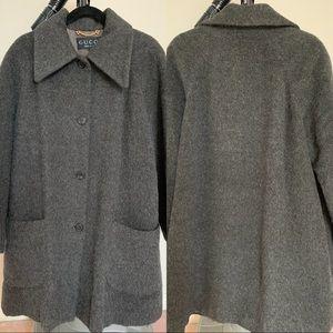 Gucci 💯 Alpaca wool coat